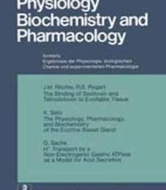 Reviews Of Physiology Biochemistry And Pharmacology By R. H. Adrian PDF