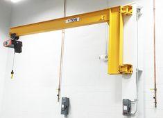 1 Ton Jib Crane-Small Jib Crane Portable Jib Crane Great For Light Duty! Garage Tool Storage, Garage Tools, Garage Workshop, Cranes For Sale, Metal Bending Tools, Gantry Crane, Cnc Plasma, Woodworking Projects Diy, Steel Structure