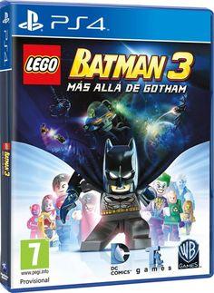 LEGO Batman 3: Más Allá de Gotham, LEGO Batman 3: Más Allá De Gotham  Inicio/Juegos/LEGO Batman 3: Más Allá de Gotham  Añadir a la lista de deseos  SINOPSISFICHA TÉCNICA  Enel juego, el Cruzado de la Capa une fuerzas con superhéroes del universo de DC Comics y despega hacia el espacio para detener al malvado Brainiac antes de que destruya la Tierra. Usando el poder de los Anillos Lantern (Anillos de las Linternas), Brainiac es capaz de encoger mundos para añadirlos a su retorcida…