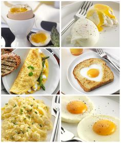 100 ways to cook eggs!