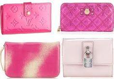 pink clutch purses<3