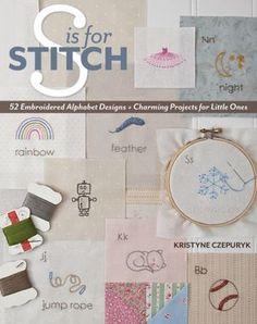 hobbi book, books, alphabet design, stitch book, little ones