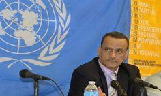 #موسوعة_اليمن_الإخبارية l الاحتجاجات تطغى على زيارة ولد الشيخ إلى اليمن