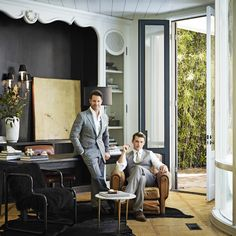 Hollywood's Chicest Lair: Nate Berkus and Jeremiah Brent