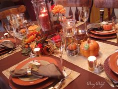 As mentioned yesterday, I've been busy getting organized for our Canadian Thanksgiving coming up on October I want to have the tables. Thanksgiving Quiz, Canadian Thanksgiving, Thanksgiving Table Settings, Thanksgiving Centerpieces, Thanksgiving Crafts, Round Table Settings, Table Place Settings, Dining Room Centerpiece, Dining Table