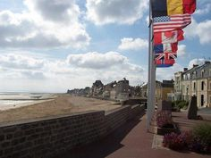 Another one I'd like to see again.  At 16, I don't think I fully appreciated the enormity of it.  Normandy Beach - France