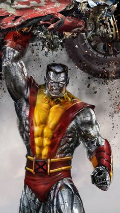 Colossus by uncannyknack on deviantART