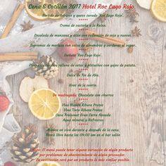 Hotel Roc Lago Rojo **** (Torremolinos, Málaga) ---- Alojamiento recomendado para adultos ---- ¿Ya tienes planes para despedir el 2017 y dar la bievenida al Año Nuevo? ¡En el Roc Lago Rojo te proponemos que pases la Nochevieja con los tuyos mientras saboreáis este menú tan especial! ¡La noche de Fin de Año será todavía más espectacular con Roc Hotels ! ---- Reservas en www.opentours.es ---- Información y reservas, sólo a través de agencias de viajes minoristas ---- #roclagorojo #rochotels…