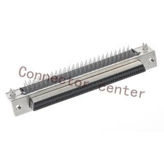 SCSI HDB Connector For TE 1.27Pitch 100Pin Right Angle Female Original 6888135-1