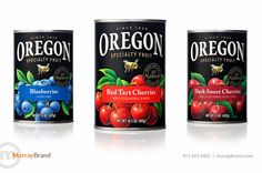 Oregon Fruit Products on Packaging of the World - Creative Package Design Gallery
