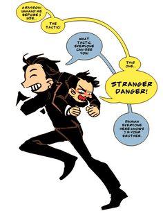 Dick and Damian, Stranger Danger