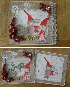 Panduro Hobby´s Scrapbooking Designteam: Så nærmer sig julen...