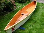 Build a canoe from two sheets of plywood