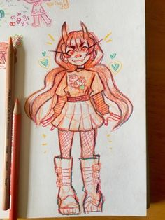 Stuff To Draw Sketches Character Design References Cute Art Styles, Cartoon Art Styles, Art Drawings Sketches, Cute Drawings, Tumblr Art, Kawaii Art, Art Reference Poses, Character Design Inspiration, Pretty Art