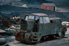 Sentinel loco at Wheldale 1983
