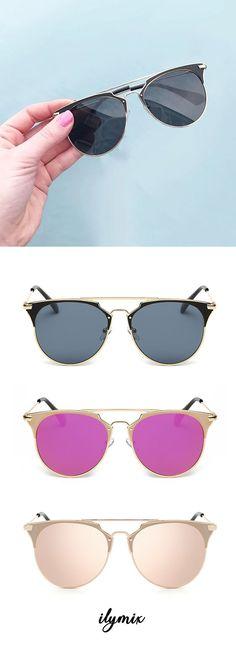 7cad0f4d0e Cali Mirror lens sunnies - Ilymix Fashion Accessories - Sunglasses