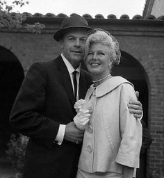 GINGER ROGERS & WILLIAM MARSHALL ~ Married in 1961. This was Rogers' fifth marriage.