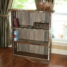 here is a liquor cabinet made from reclaimed antique pine and cypress by furniture creations by jarrod reclaimed wood furniture