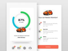 Car Care by Ranjith Alingal #Design Popular #Dribbble #shots