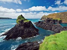 pembrokeshire coast national park. I could definitely see myself jogging the coast of Ireland. That'd be awesome.