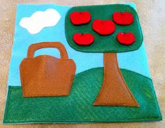 Busy Book - Apple Tree Page