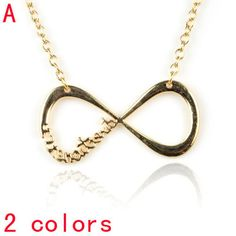 Gold Chain Tie Pendant Necklace for Women Gift NL-1956A
