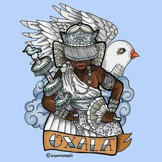 Oxalá by Bruno Barelli
