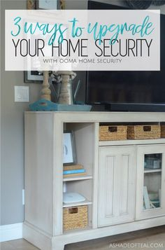 3 Ways To Upgrade Your Home Security With Oomainc Ooma Oomahomesecurity Ad Diy Home Security Home Safety Home Security