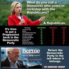 Bernie or Bust Not only is hillary NOT A Feminist She is NOT a DEMOCRAT.