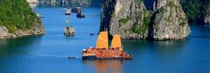 cruising the orient on halong violet