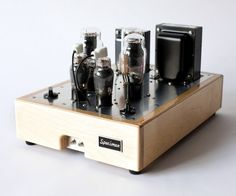 Specimen Pentode-driven Single-ended 2A3 Stereo Amp