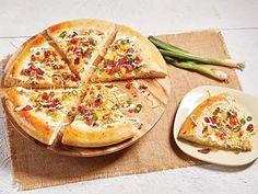 Recipes Using Copper Chef Cookware | CopperChef.com Potato Pizza Recipe, Potato Recipes, Chef Recipes, Pizza Recipes, Baking Pans Set, Copper Cooking Pan, Square Pan, Loaded Potato, Pan Set