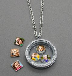 DIY your photo charms, compatible with Pandora bracelets. Make your gifts special. Make your life special! Glass Locket W/ Floating Photo Charms Kit Floating Lockets, Floating Charms, Craft Gifts, Diy Gifts, Photo Charms, Photo Craft, Picture Craft, Pandora Jewelry, Pandora Bracelets