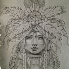 native american women illustrations - Google Search
