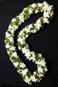 tuberose leis are a must!