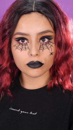 Amazing Halloween Makeup, Halloween Makeup Looks, Up Halloween, Haloween Makeup, Kids Witch Makeup, Batman Halloween, Creepy Makeup, Creepy Halloween Costumes, Pretty Halloween