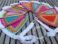 Crochet pattern GARLAND by ATERGcrochet van ATERGcrochet op Etsy