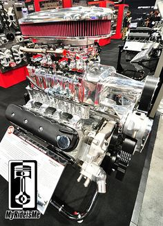 This is one of 13 New Hot Rod Products from from #SEMA2013. Everyone needs a blower for their LS motor!
