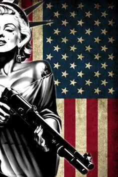 Fourth of July. Like this to go in my bedroom with the rest of my Marilynn Monroe