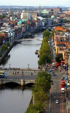 Dublin,  Ireland- only because im here right now and i literally walked down these streets <3