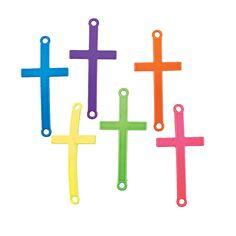 Neon Cross Connectors - OrientalTrading.com