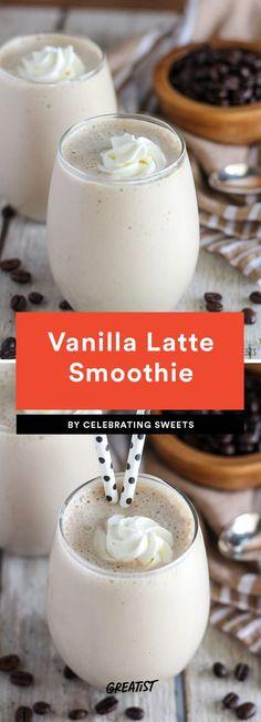 Vanilla Latte Smoothie