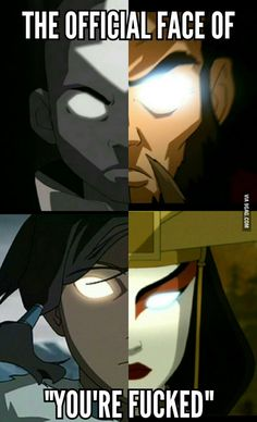 Nah, Any face Kyoshi makes means that.