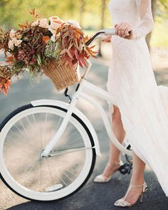 Lauren riding in style 2 Falls ago. Wedding planning and design @shannonleahyevents floral @atelierjoya #napawedding #fallwedding via @angela4design