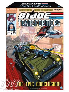 2013 SDCC Exclusive G.I. Joe/Transformers Crossover Set Revealed - GI Joe - Action Figures Toys News ToyNewsI.com