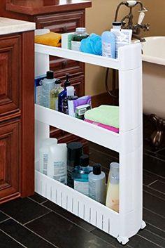 Kitchen Storage Cabinet Organizer Slim Slide Storage Rack With Wheels Shelf Idea #Homfa | Kitchen Storage Cabinet Organizer Slim Slide Storage Rack With ... & Kitchen Storage Cabinet Organizer Slim Slide Storage Rack With ...