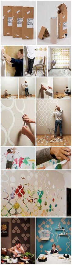 diy wall design, bathroom: