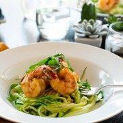 Spicy Shrimp with Zucchini Noodles | Kitchen Confidante