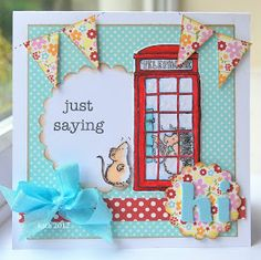 Kath's Blog......diary of the everyday life of a crafter: Penny Black Saturday Challenge...Week 190