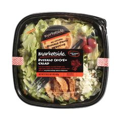 Marketside Buffalo Chicken Salad, 17 oz ($26) ❤ liked on Polyvore featuring food, food and drink, fillers, comida and food & drink